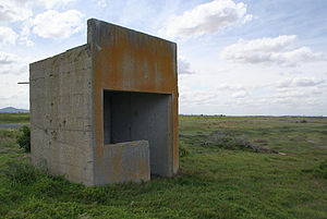Point Wilson, Victoria - Disused bunker near the shoreline of Corio Bay