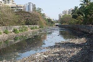 Malad Creek - Pollution in Malad Creek