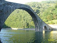 Ponte della maddalena wikipedia for Ponte sopra i disegni del garage