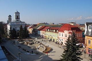Poprad City in Slovakia