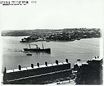Port Jackson looking north toward Blues Point and McMahons Point, Sydney (5414571594).jpg