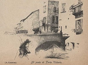 Porta Vittoria - Image: Porta vittoria 1886