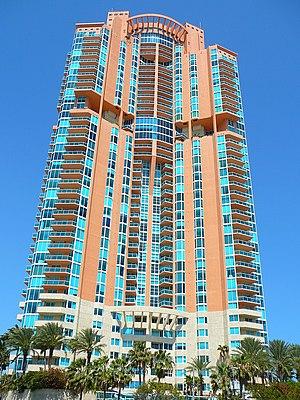 Portofino Tower -  Portofino Towers in Miami Beach. Photo: Marc Averette