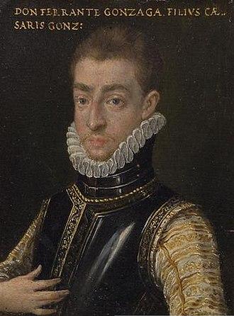 Ferrante II Gonzaga, Duke of Guastalla - Ferrante II Gonzaga.