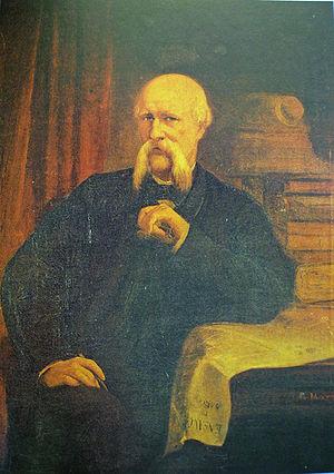 Ildefons Cerdà - Portrait by Ramon Martí Alsina