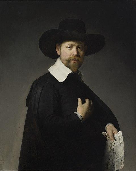 REMBRANDT Harmenszoon van Rijn Portrait of Marten Looten, 1632