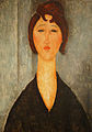 Portrait of a Young Woman, Amedeo Modigliani, 1918, New Orleans Museum of Art.jpg