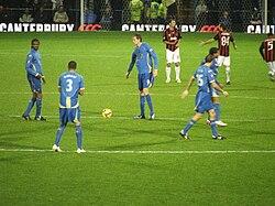 Portsmouth kickoff vs ac milan