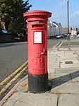 Post box on Rowson Street, New Brighton.jpg