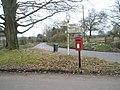 Postbox in Privett village centre - geograph.org.uk - 1182166.jpg