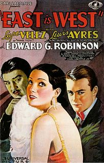 <i>East Is West</i> 1930 film by Monta Bell