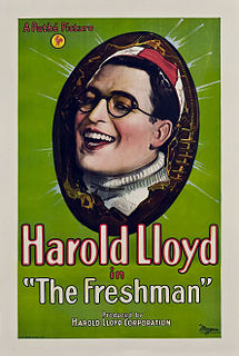 <i>The Freshman</i> (1925 film) 1925 film by Sam Taylor, Fred C. Newmeyer