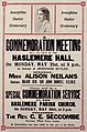 Poster - Josephine Butler Centenary. A commemoration meeting, 1928. (22906771752).jpg