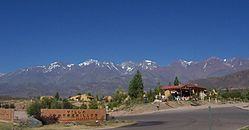 Mendoza, at the foot of the Andes