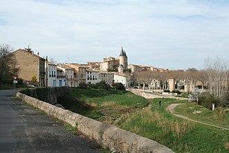 Pouzolles - A general view of Pouzolles