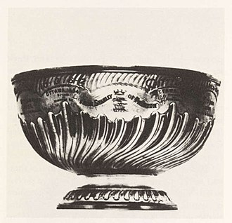 Stanley Cup - The first Stanley Cup