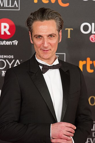 Ernesto Alterio - Alterio at the 32nd Goya Awards in 2018