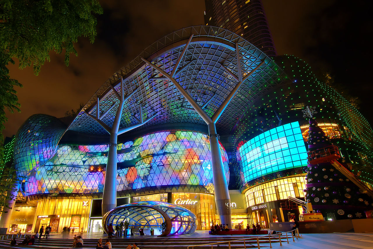 Ion Orchard Shopping Mall Singapore courtesy of the TO