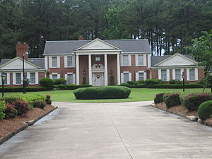 Grambling State University - Image: President's Home at Grambling State Univ. IMG 3674
