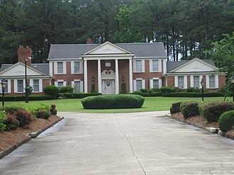 Grambling State University - Image: President's Home at Grambling State Univ. IMG 3674