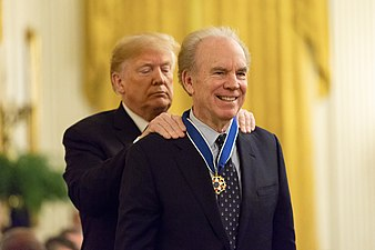 President Donald J. Trump Presents Medal of Freedom to Roger Staubach - 45863434232.jpg