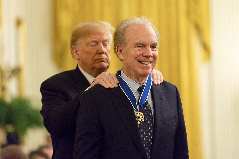 President Donald J. Trump Presents Medal of Freedom to Roger Staubach - 45863434232