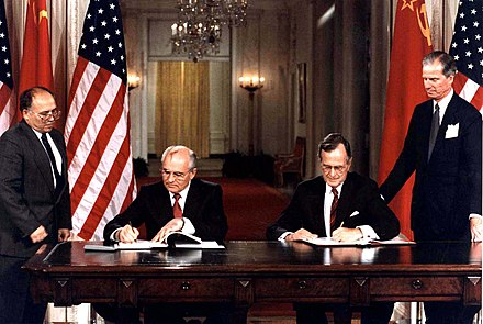 Reforms made under Soviet leader Mikhail Gorbachev led to the end of the Warsaw Pact.