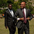 President Martelly and Wyclef (5765185331).jpg