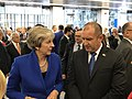 President Rumen Radev heads the Bulgarian delegation to the Meeting of the Heads of State and Government of the NATO Member States in Brussels 2018 12.jpg