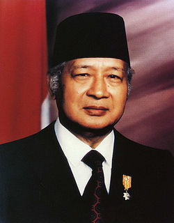 Suharto 2nd President of the Republic of Indonesia