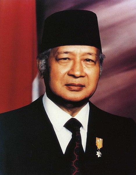 Mohammed Suharto, de Indonesia