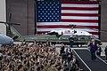 President Trump Delivers Remarks at Osan Air Base (48170501286).jpg