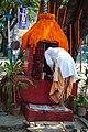 Priest preparing for Mahashivratri Puja in Kolkata 20130310-0980.jpg