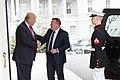 Prime Minister Lars Løkke Rasmussen and President Donald Trump, March 30, 2017.jpg