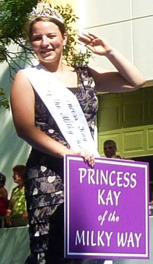 Princess Kay of the Milky Way - Image: Princess Kay 20100830 crop