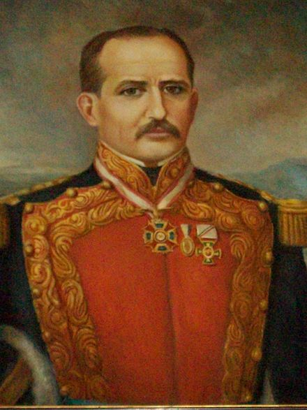 Painting of Prisciliano Sanchez, first governor of the state Prisciliano Sanchez (pintura).JPG