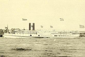 Fall River Line - Image: Priscilla (steamship)