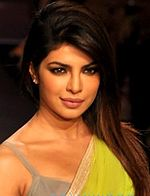 A picture of Priyanka Chopra looking towards the camera