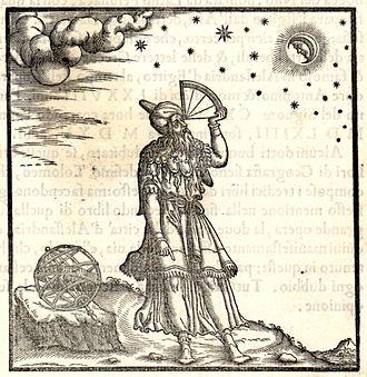 Quadrant (instrument) - Ptolemy using a quadrant