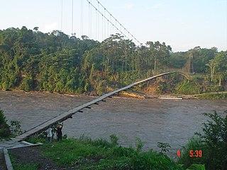 Aguarico River river in Ecuador and Peru