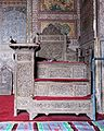 Pulpit of Wazir Khan Mosque.jpg