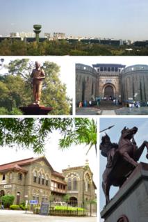 Pune Metropolis in Maharashtra, India