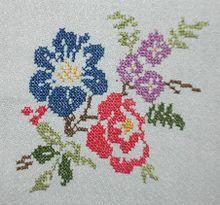 Como Hacer Cojines Decorativos Punto De Cruz.Punto De Cruz Wikipedia La Enciclopedia Libre