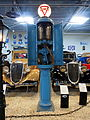 Purfina petrol pump at the Den Hartog Ford museum pic2.JPG