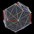 Pyritohedral great icosahedron core, face gray.png