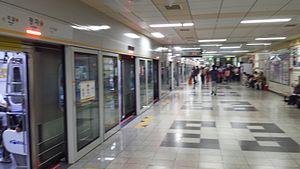 Jeongja Station - Bundang Line's Jeongja Station