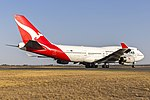 Qantas (VH-OJU) Boeing 747-438(ER) at Avalon Airport (5).jpg