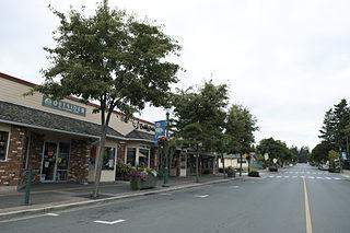 Town in British Columbia, Canada