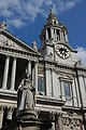 Queen Anne and the west front of St Paul's Cathedral - geograph.org.uk - 397140.jpg