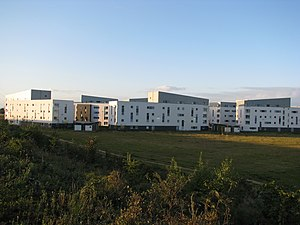 Queen Margaret University - Student accommodation at the Musselburgh campus.